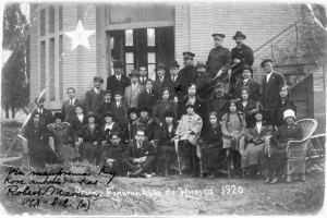 Meeting of Esperanto speakers in Huesco, Spain (1920)